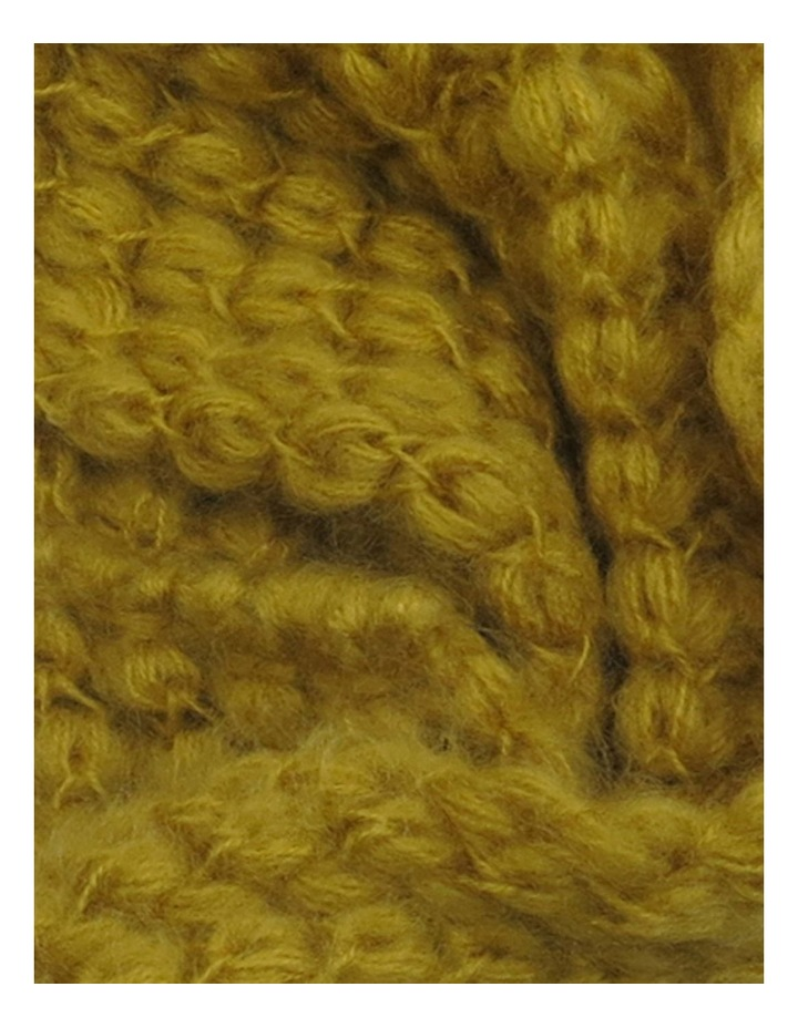 SC001 Eve Fuzzy Knit Cable Snood image 2