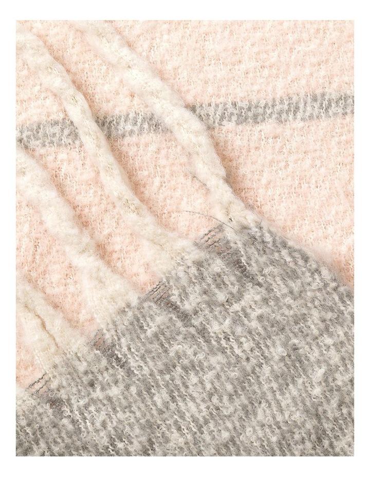 GNKQ121M Multi Stripe Chunky Scarf image 2