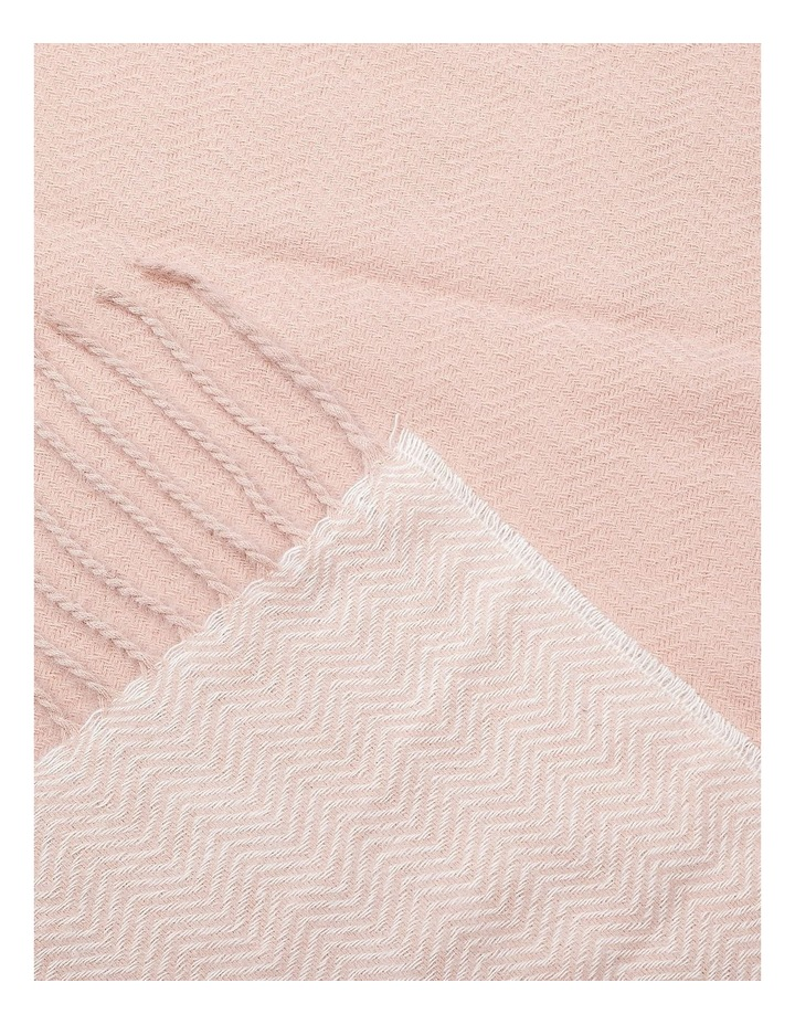 GNKQ122M Border Soft Touch Scarf image 2