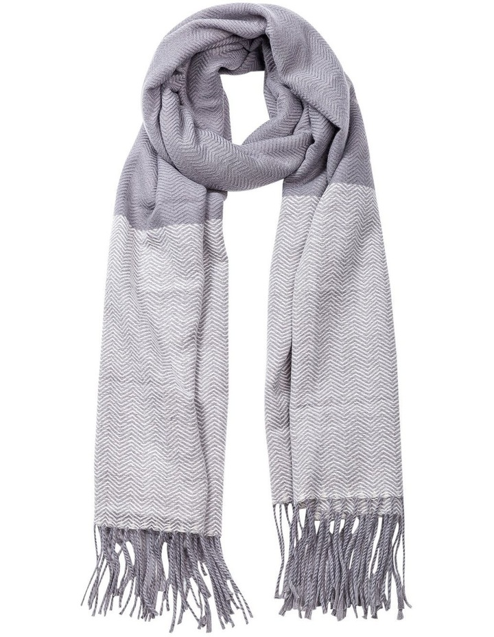GNKQ122M Border Soft Touch Scarf image 1