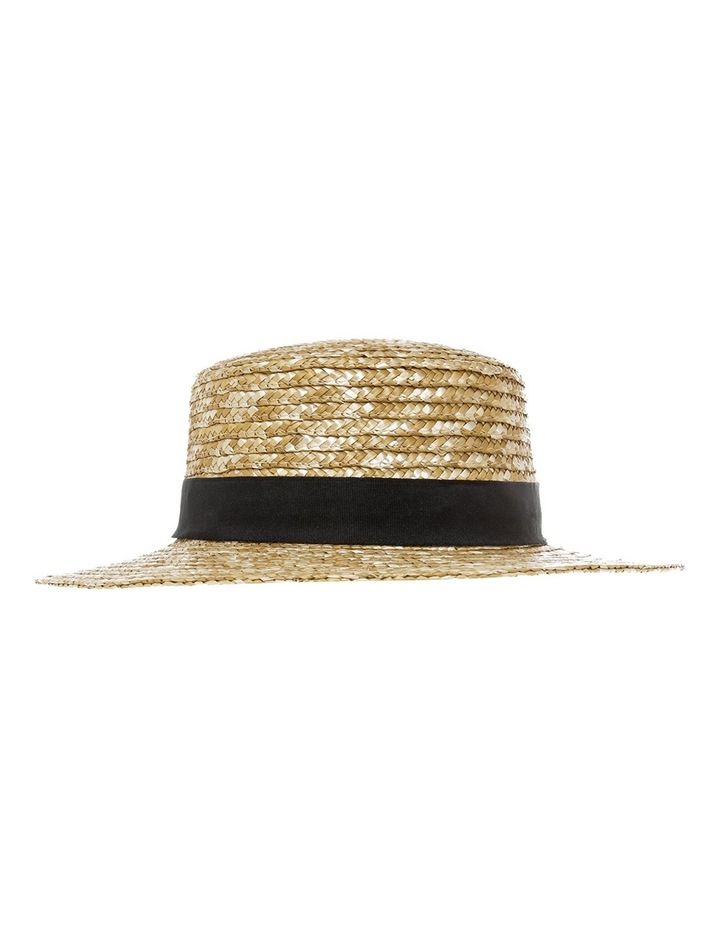 Straw Boater With Bow image 1