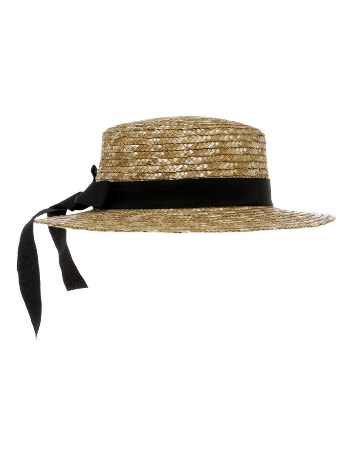 Straw Boater With Bow image 2