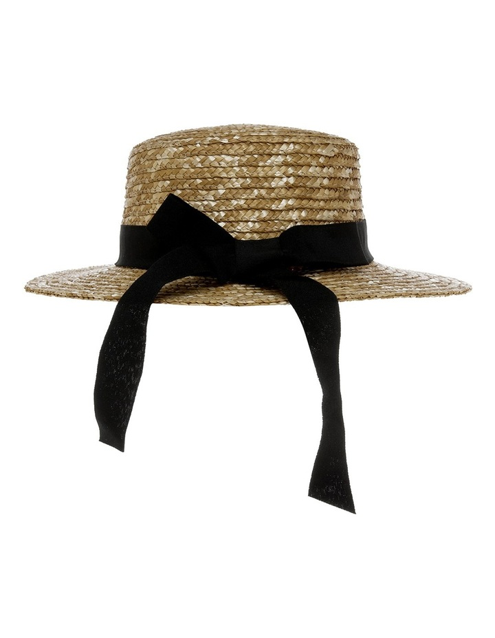 Straw Boater With Bow image 3