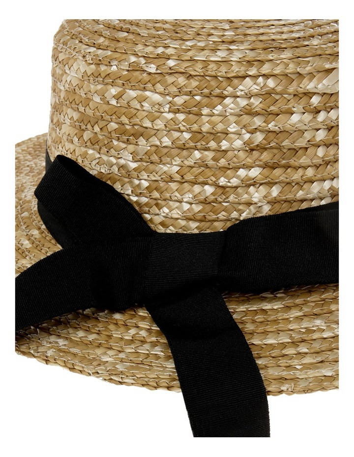 Straw Boater With Bow image 4