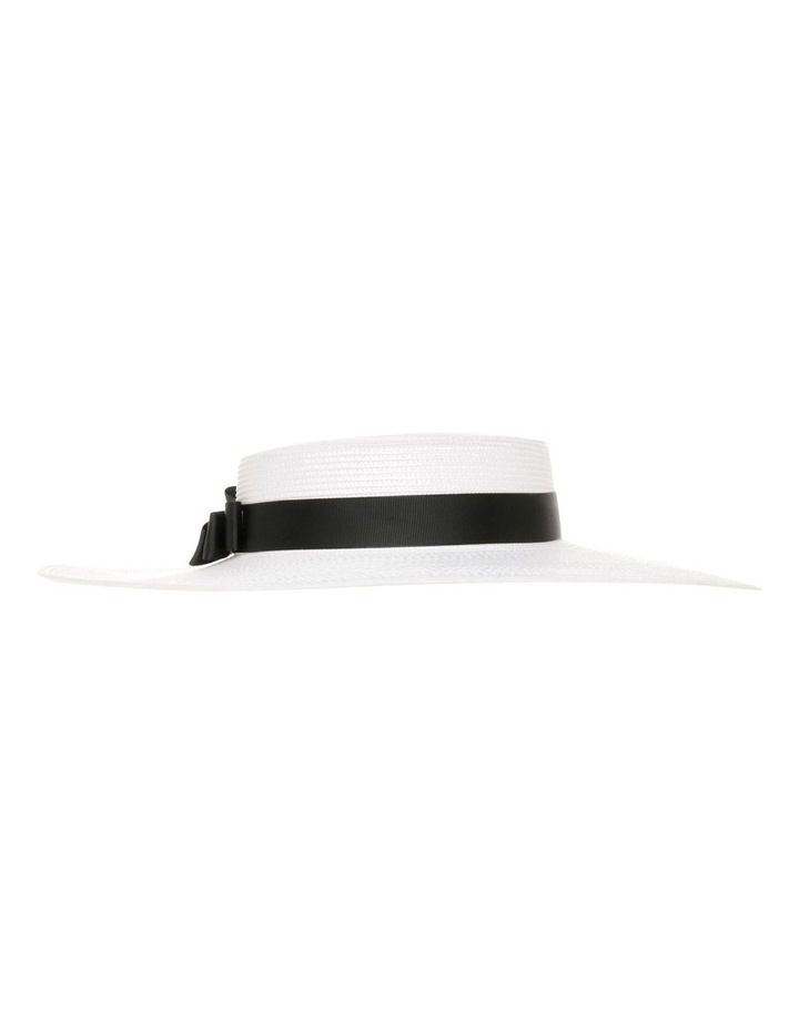 GHRL355M Classic Boater W Grosgrain Bow image 1