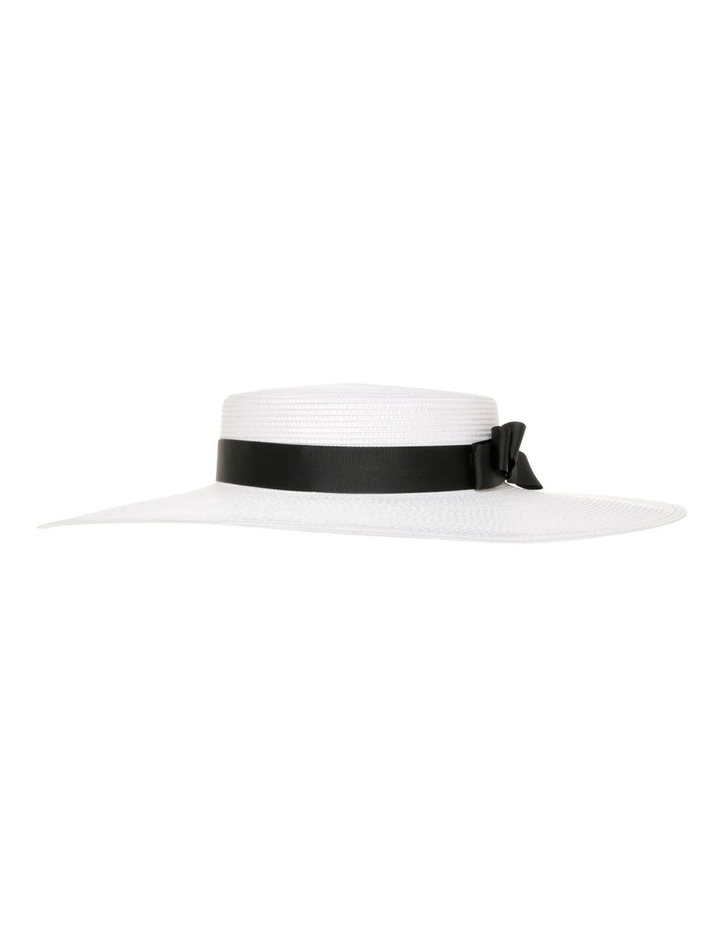 GHRL355M Classic Boater W Grosgrain Bow image 3
