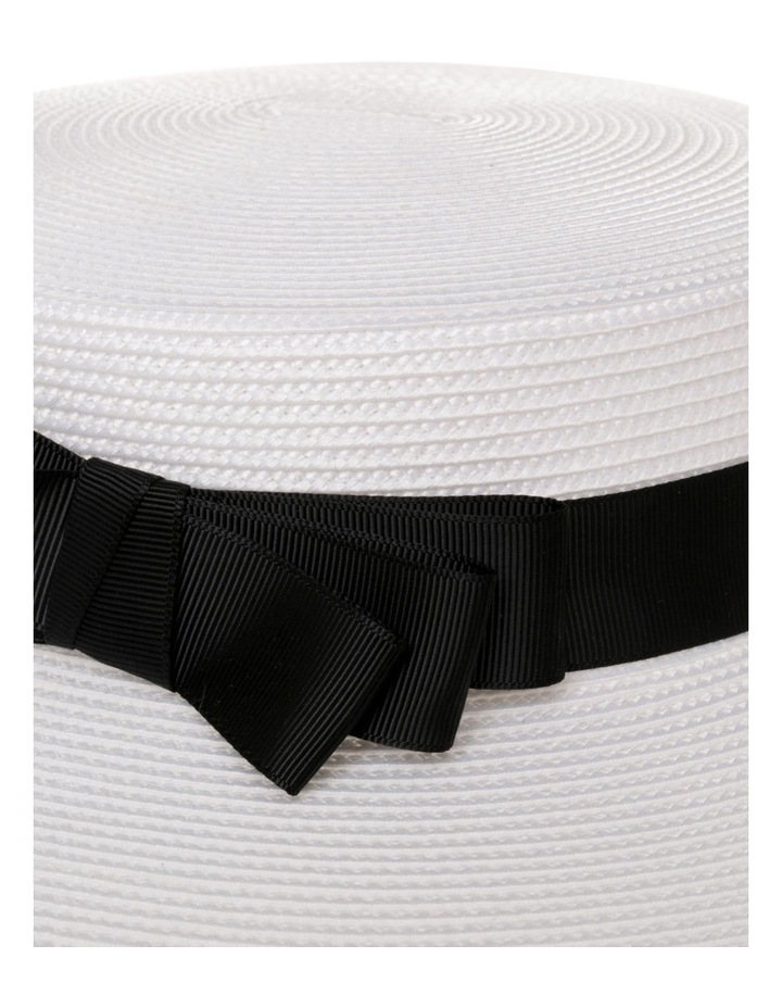 GHRL355M Classic Boater W Grosgrain Bow image 4