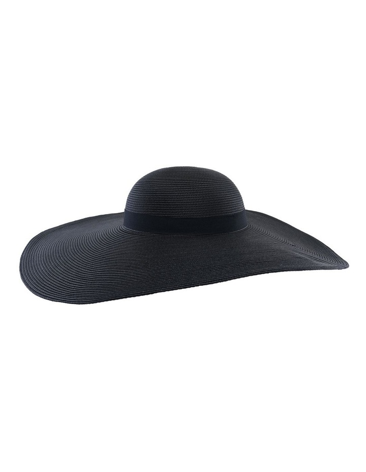 Curved Hood Hat W Wide Brim image 1