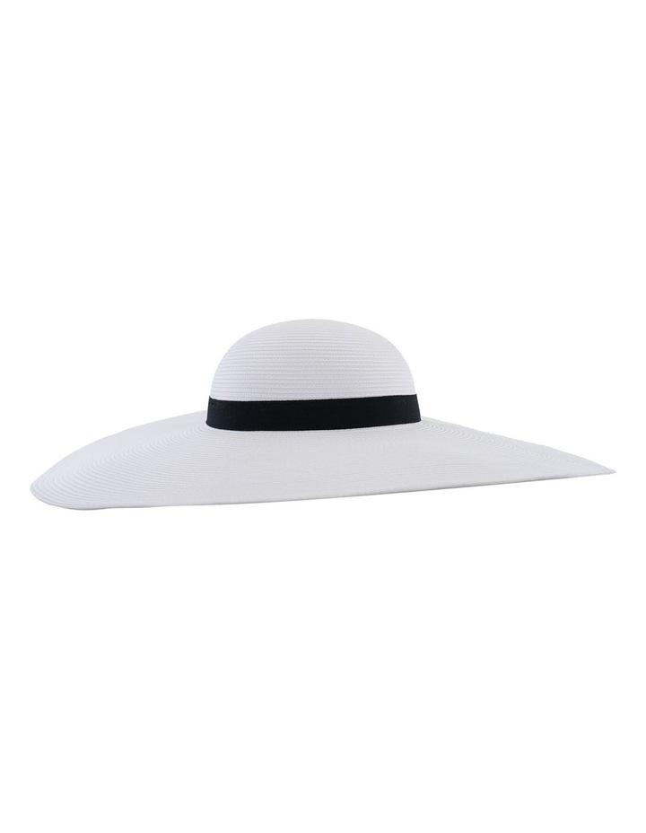 Curved Hood Hat W Wide Brim image 2