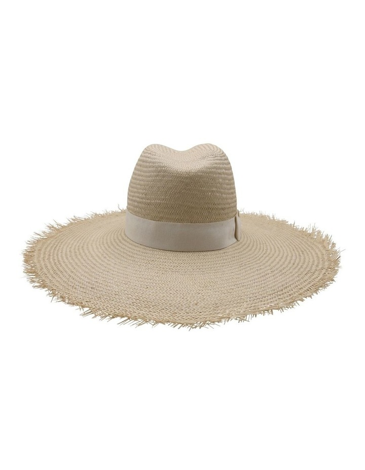 Frayed Edge Straw Fedora image 2