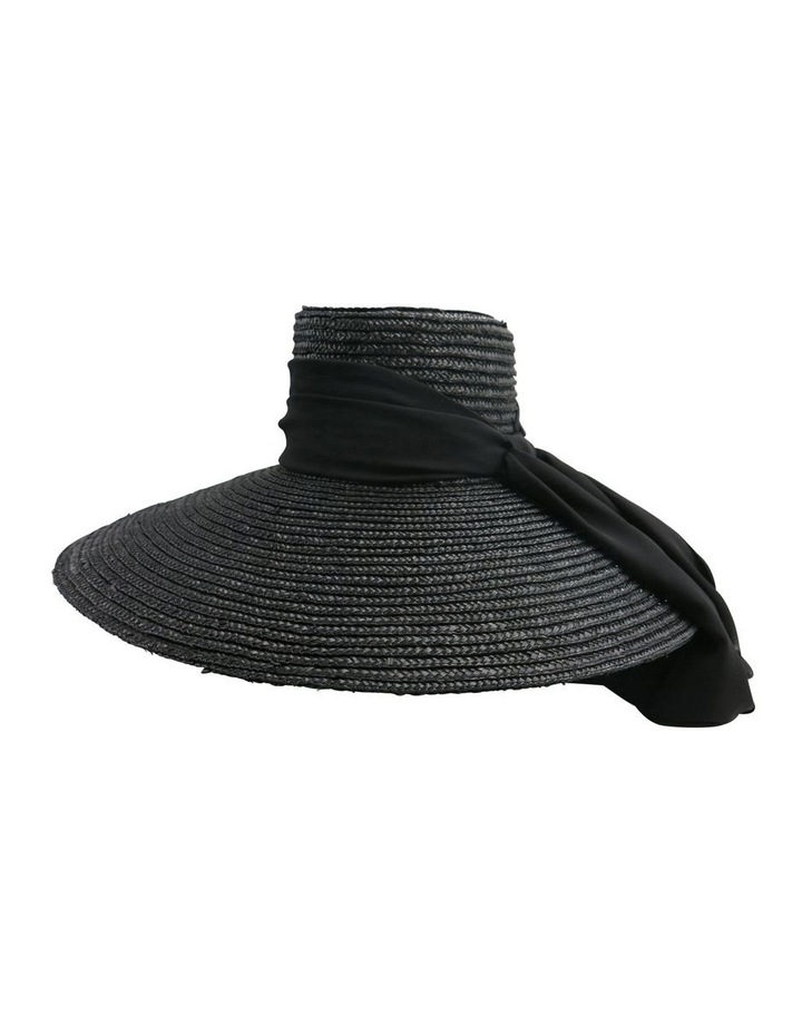 Straw Hat With Jewelled Scarf image 2