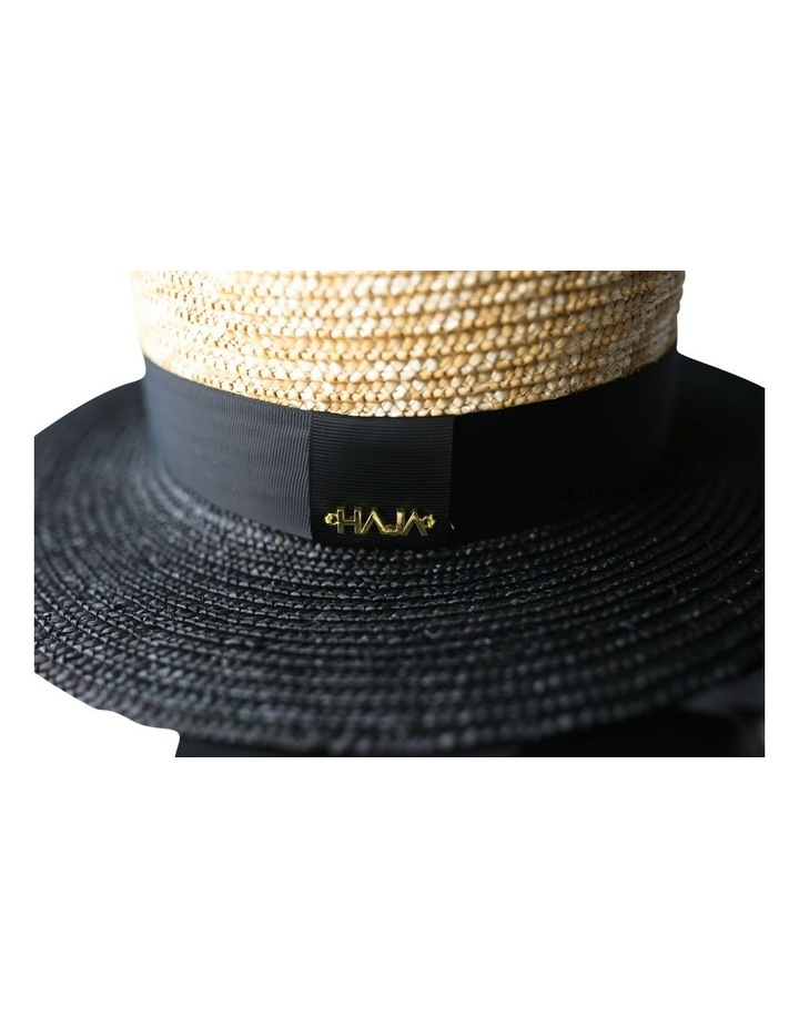 Two Tone Boater Hat image 3