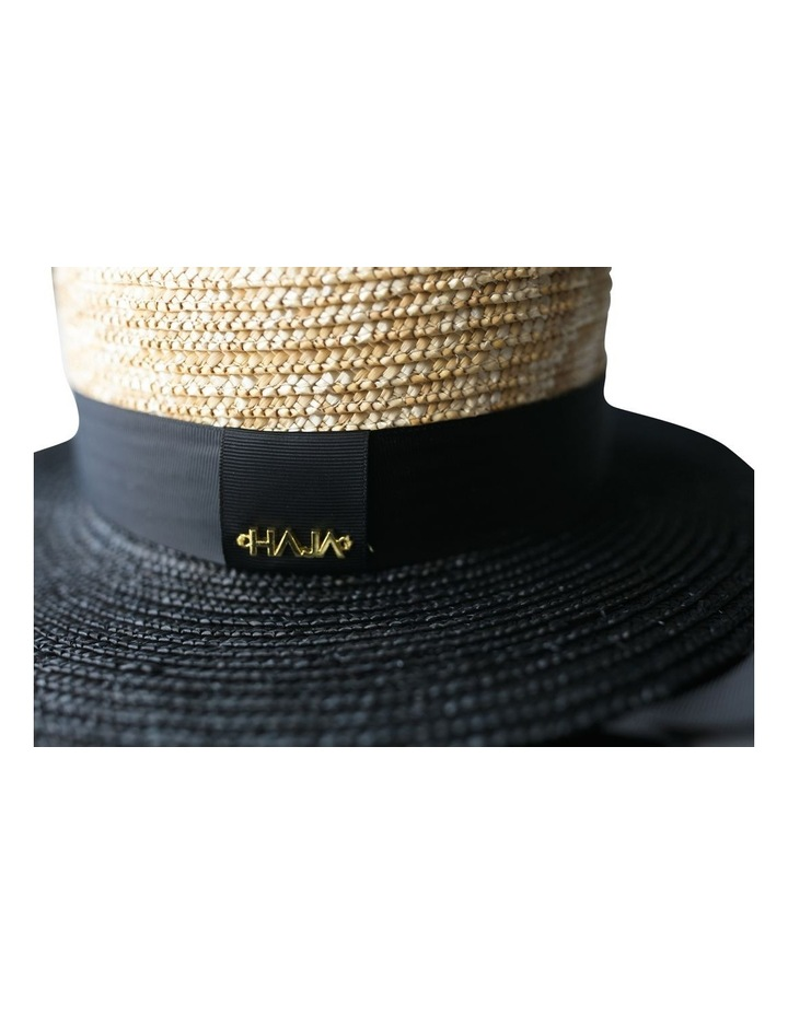Two Tone Boater Hat image 4