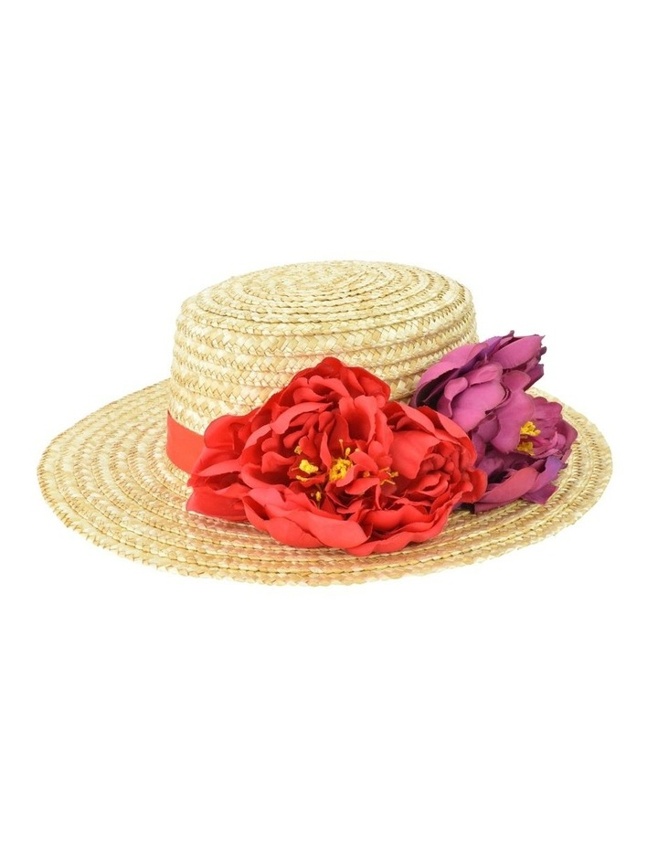 Edith Natural Straw Boater image 1