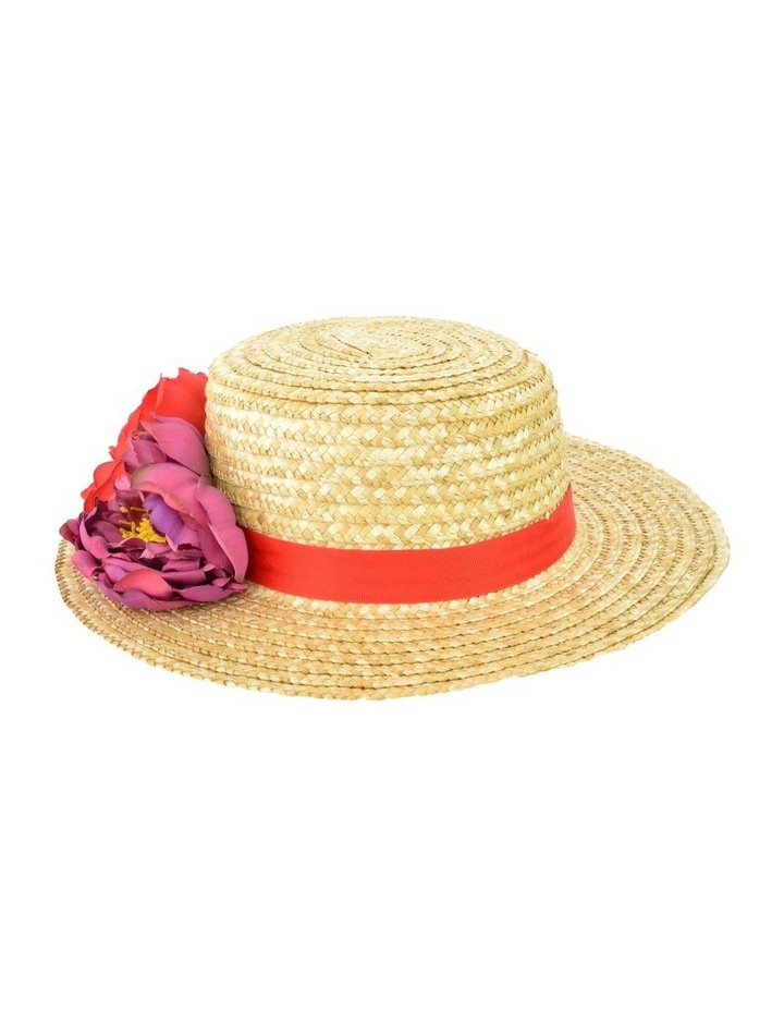 Edith Natural Straw Boater image 2