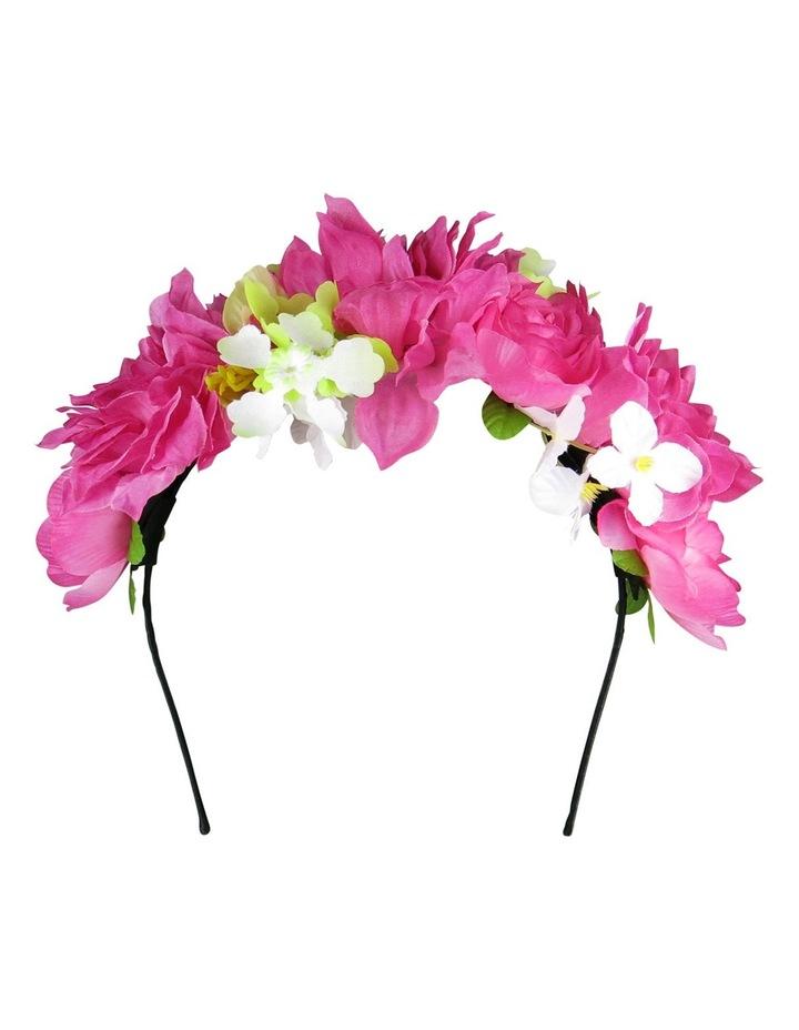 'YAZMIN' Multi Flowers on Headband image 1