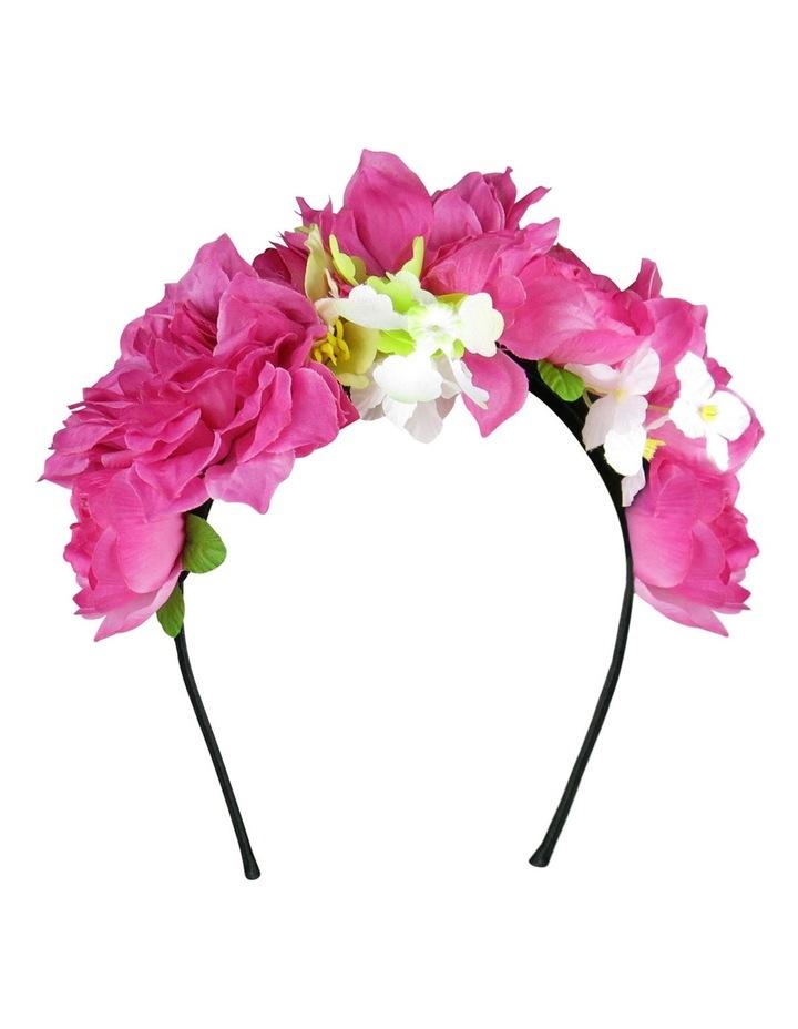 'YAZMIN' Multi Flowers on Headband image 2