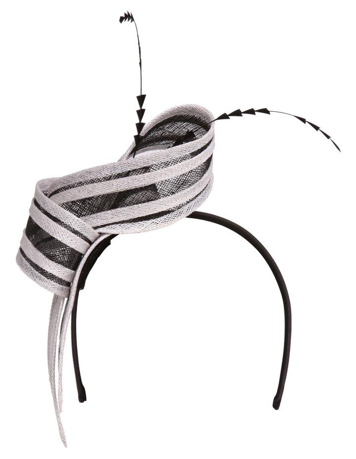 'DEMI' Striped Knot Fascinator image 1