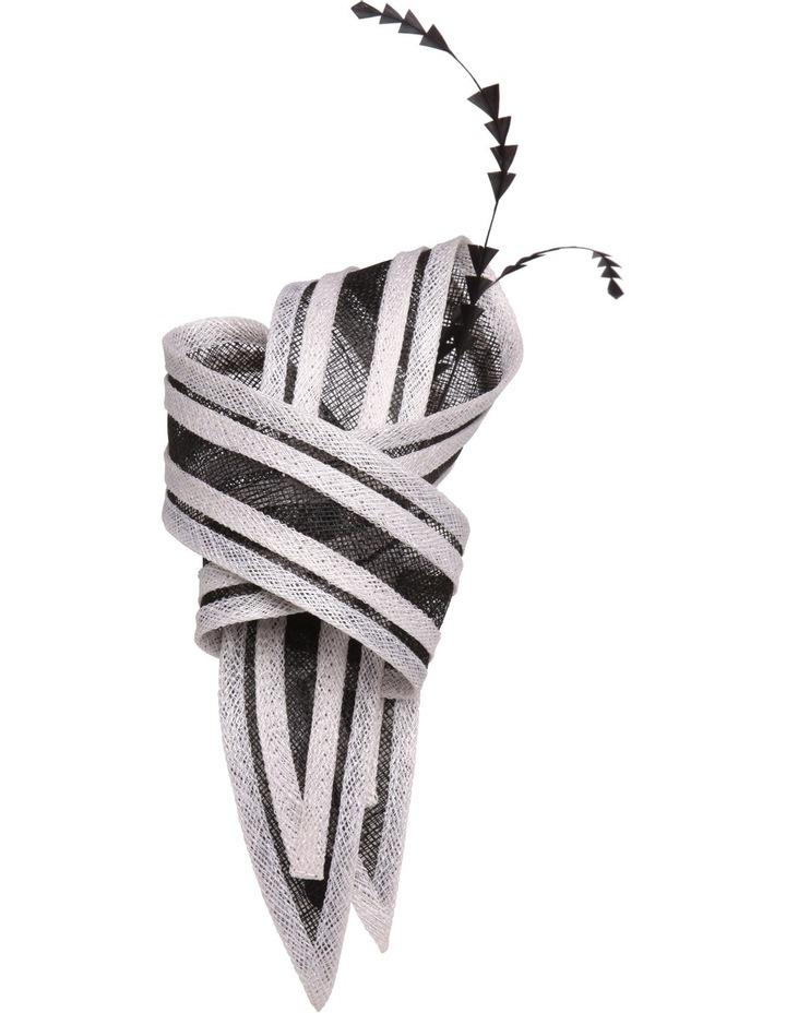 'DEMI' Striped Knot Fascinator image 2