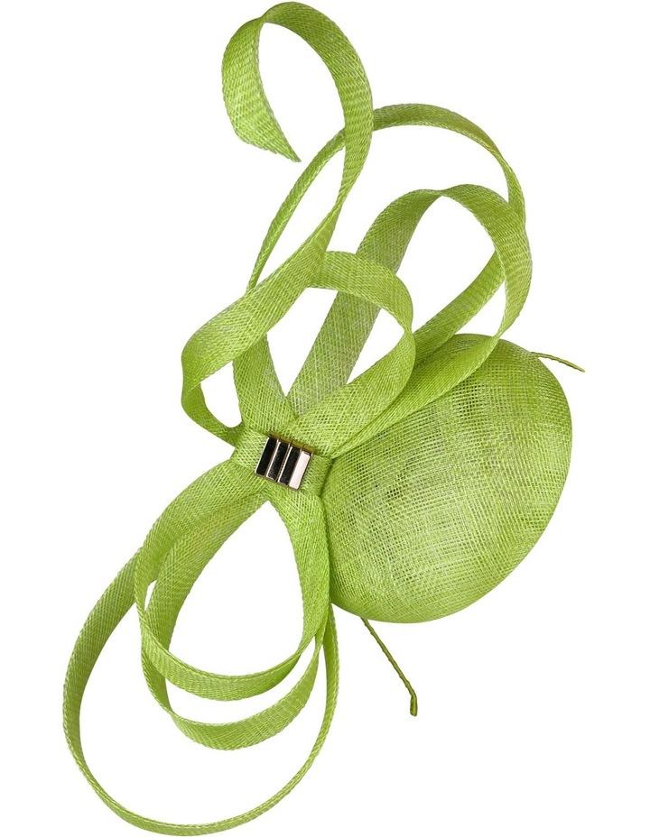 'CINDY' Sinamay Beret with Loops image 2