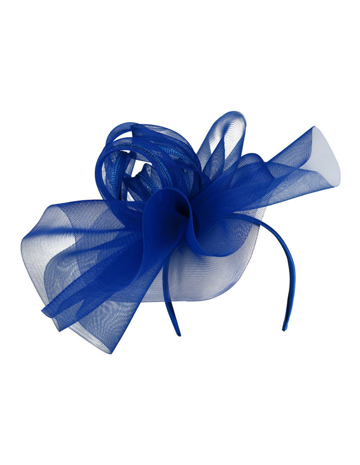 KAILEY  Ruffle Fascinator on Headband with Loops image 1.   e334563b4bd