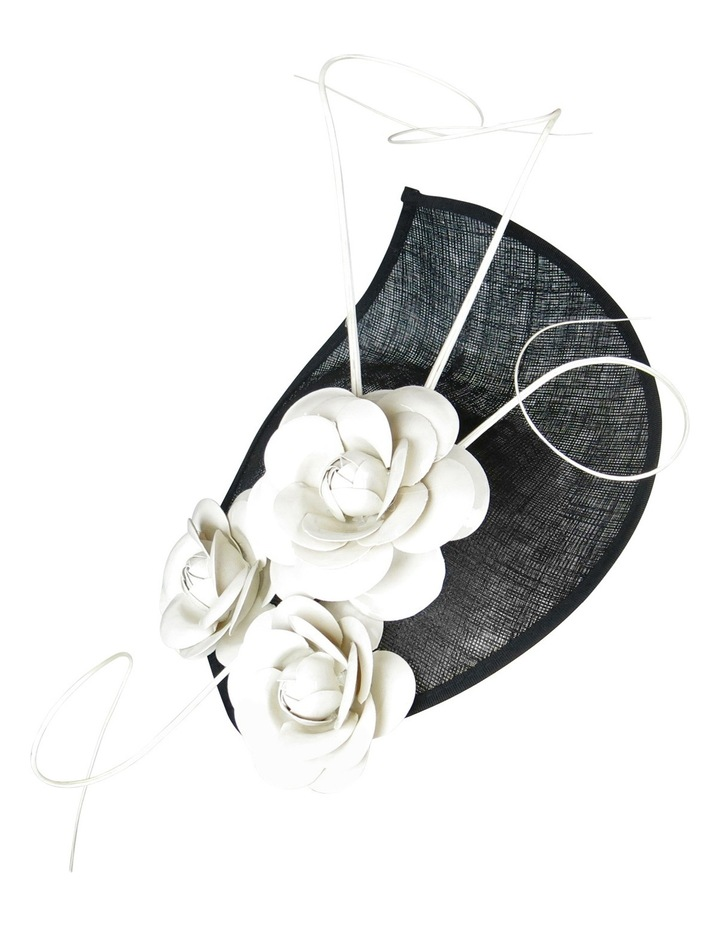 Black With Ivory Flower image 1