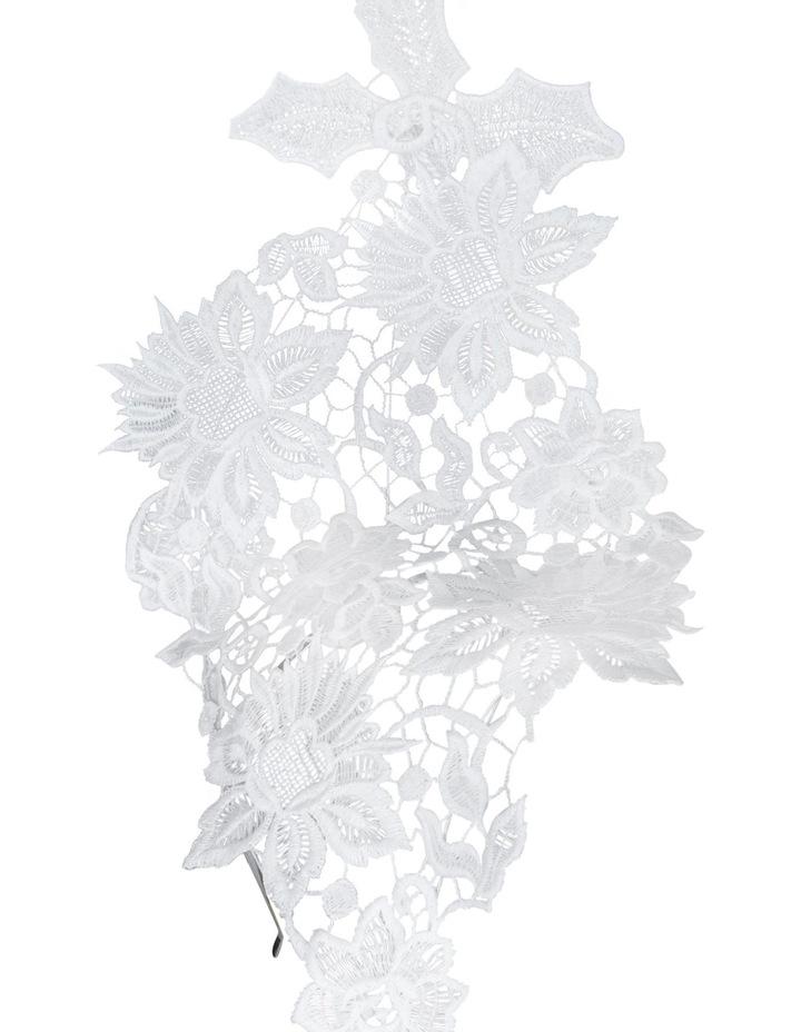 Large Lace Tear Drop image 2