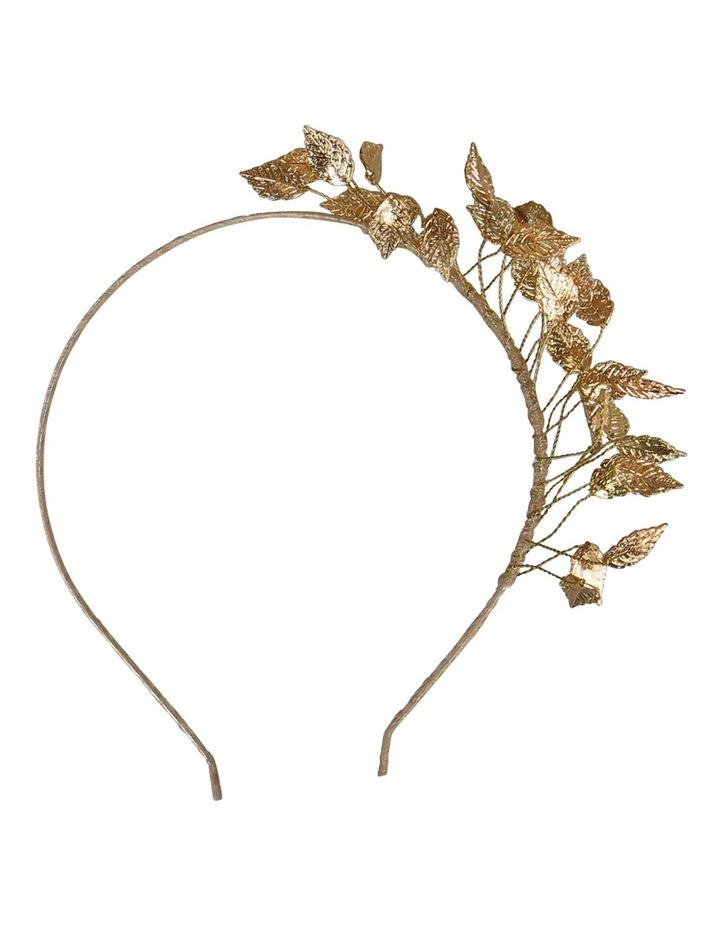 Gold Brambles/Foliage Headband image 3