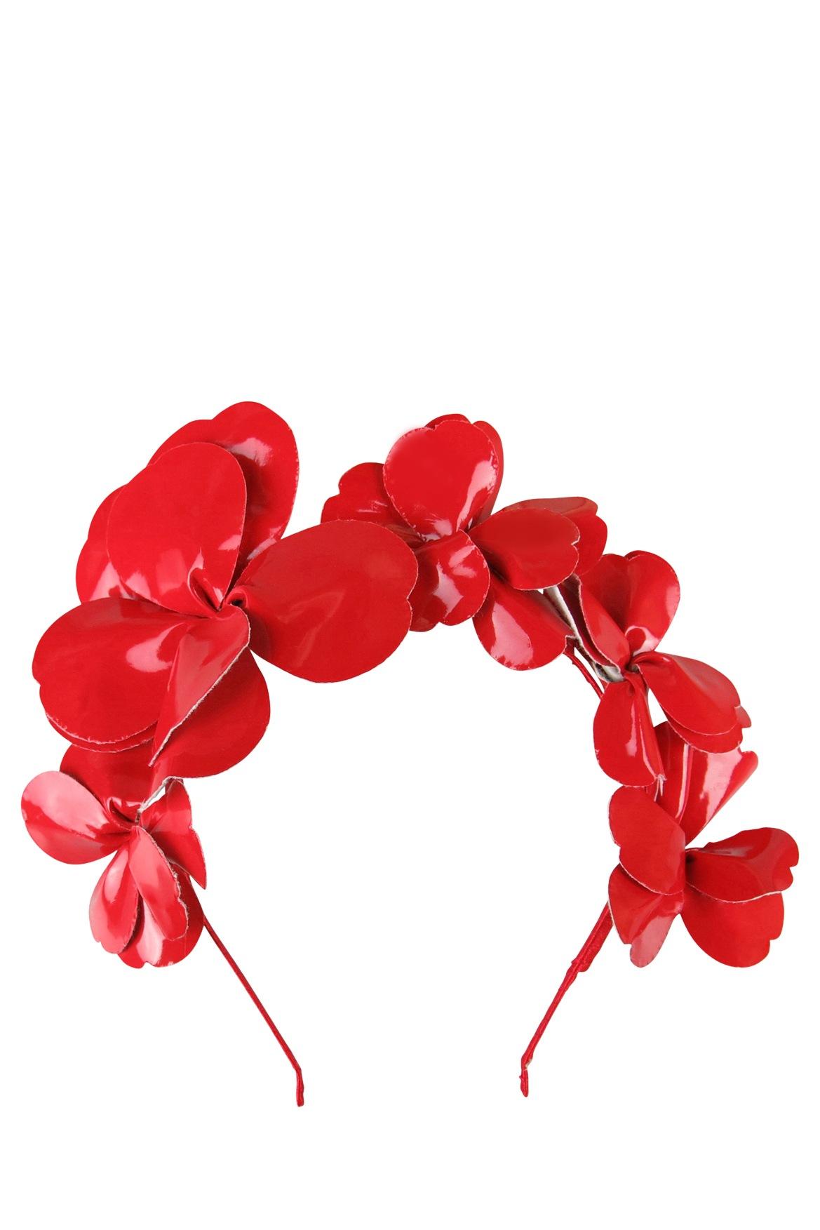 Morgan taylor patent flower headband myer online izmirmasajfo
