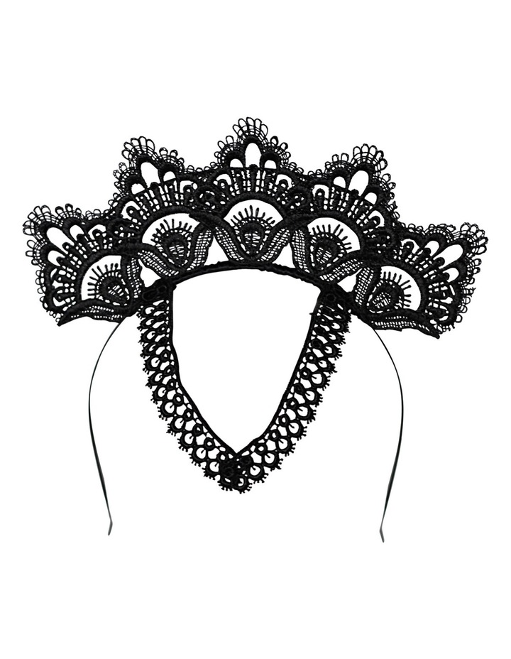 Lace Crown With Motif image 1