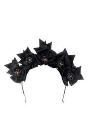 Olga Berg - Jada Grosgrain Flower Headband