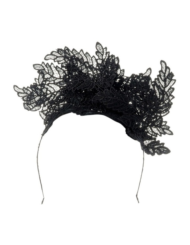 Nadia Leaf Lace Fascinator image 1