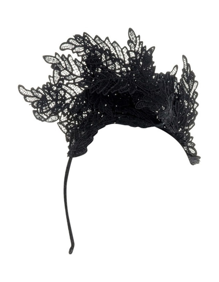 Nadia Leaf Lace Fascinator image 2