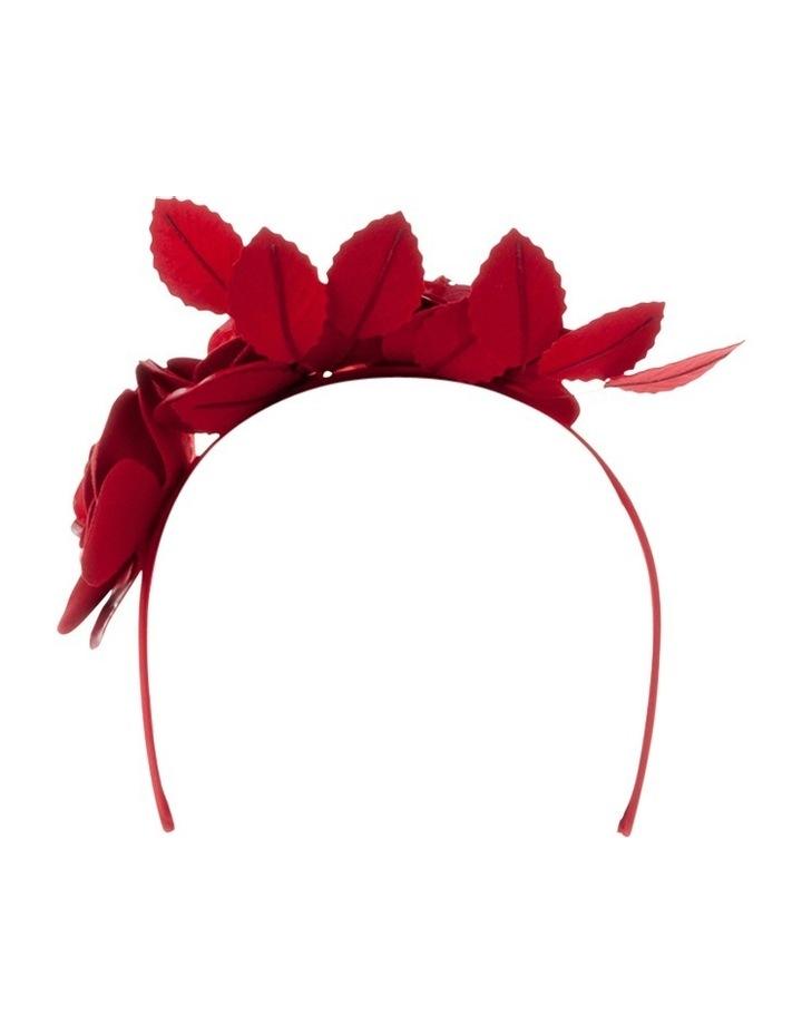 Alicia Patent Floral Headband image 3
