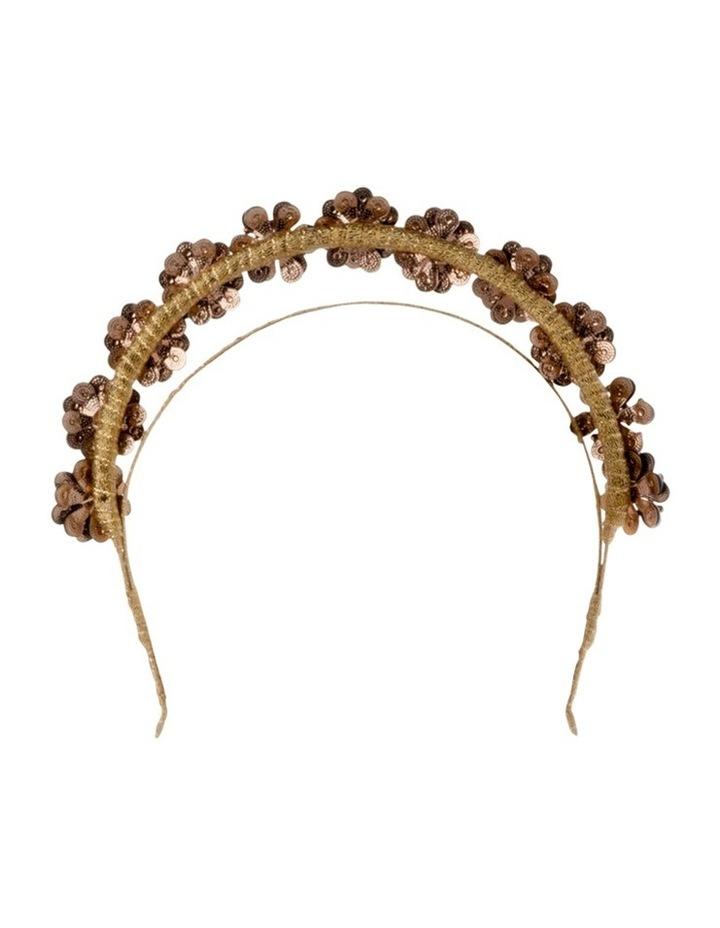 Amara Enamel Flower Headband image 3