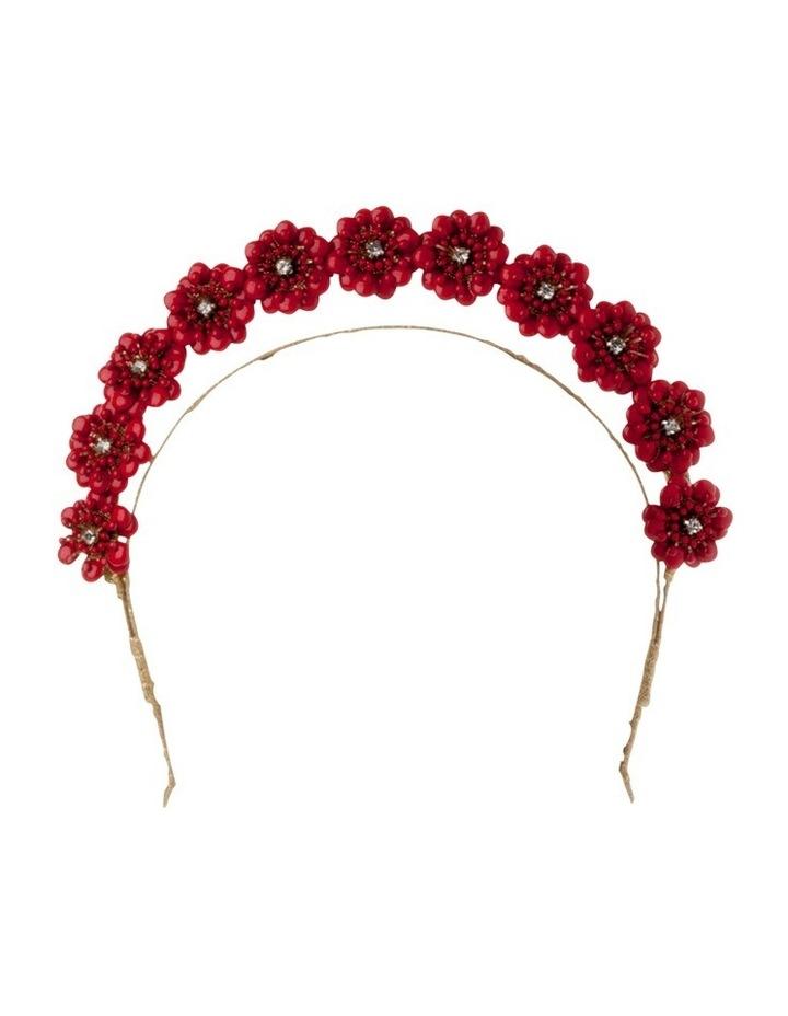 Amara Enamel Flower Headband image 1