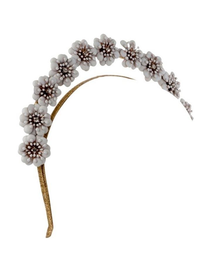 Amara Enamel Flower Headband image 2