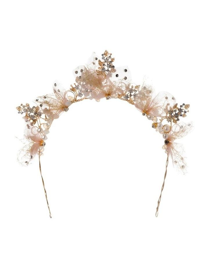 Lillian Metal Tulle Headband image 1