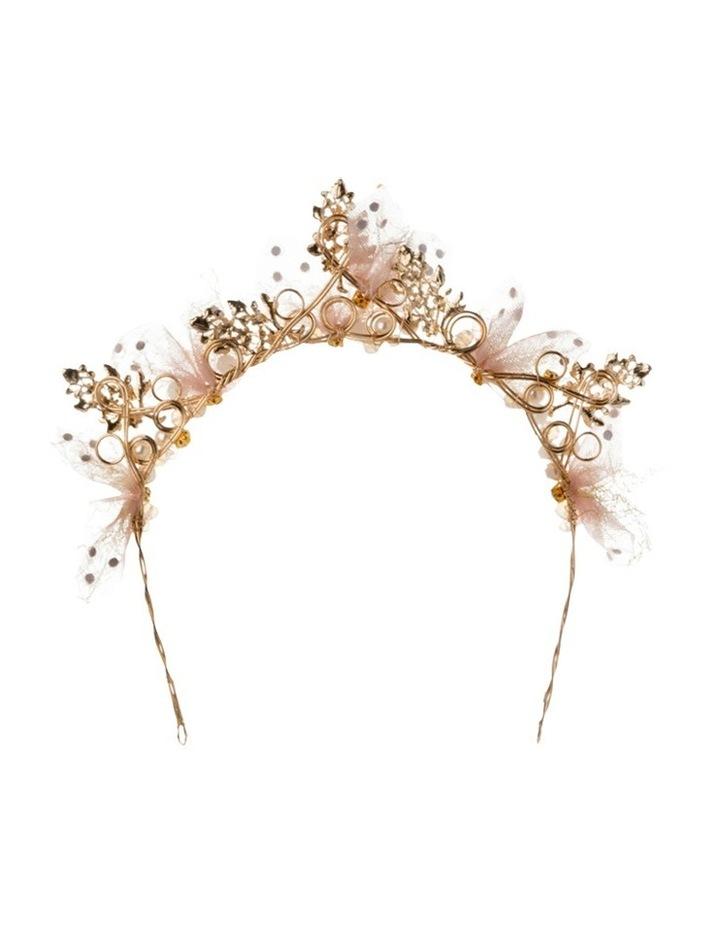 Lillian Metal Tulle Headband image 3
