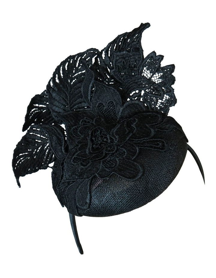 Sinamay Beret With Lace Fascinator FS182 image 2