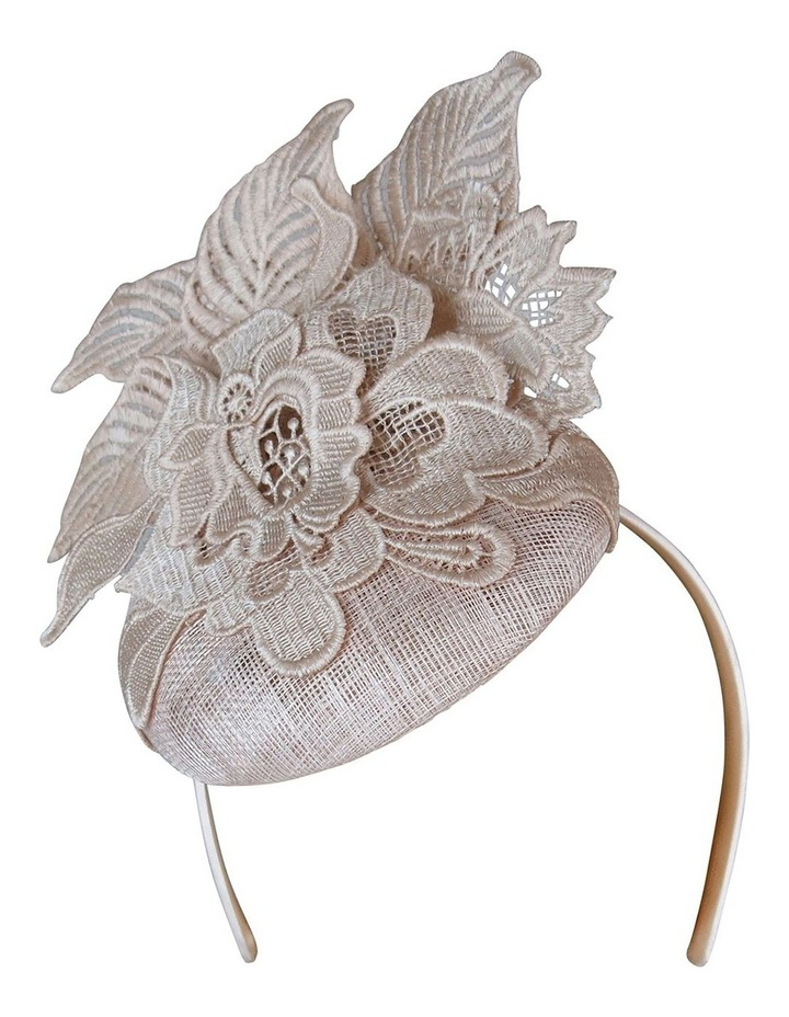 Sinamay Beret With Lace image 1