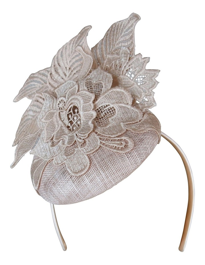 Sinamay Beret With Lace image 2
