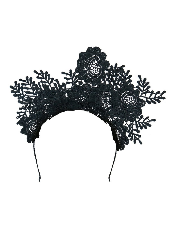 Floral Lace Fascinator image 5
