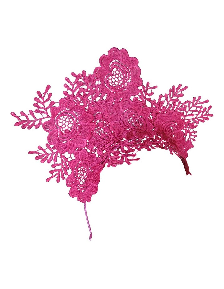 Floral Lace Fascinator image 2