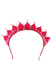 Lace Crown Fascinator