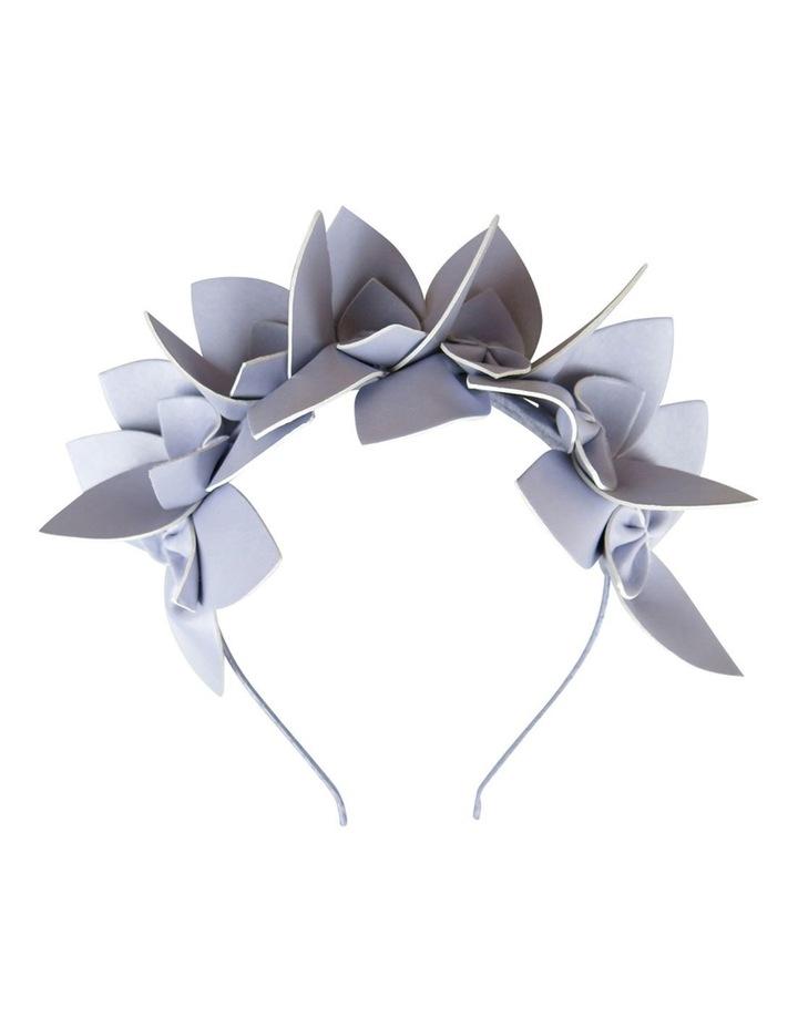 Pu Orchid Design On Headband image 1
