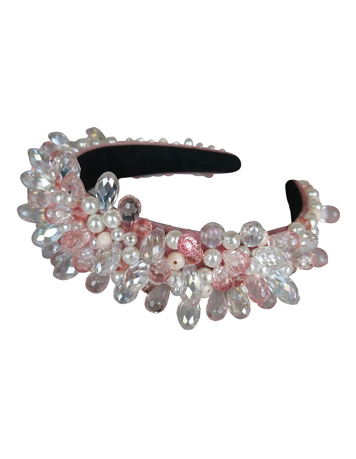 Silver Gems And Pearls On Baroque Headband image 2