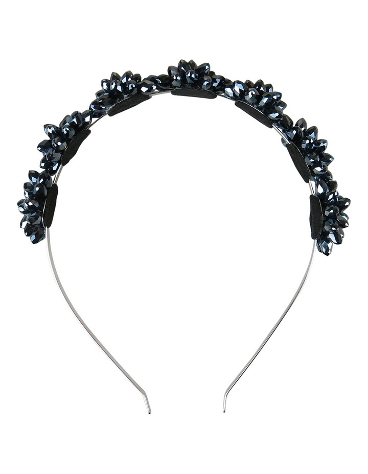 Crystal Flowers On A Headband image 1