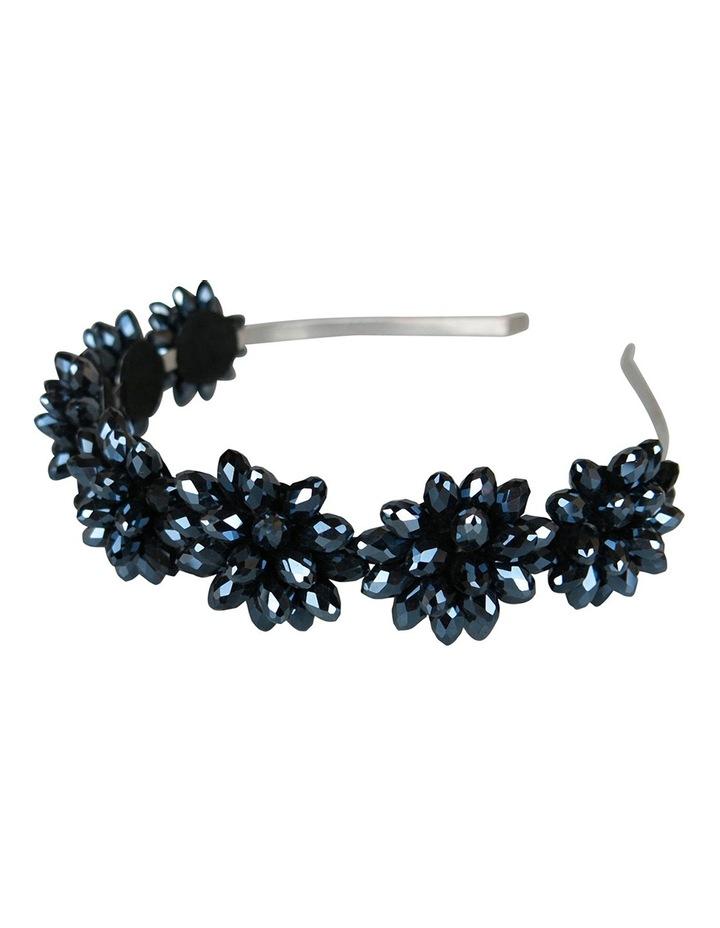 Crystal Flowers On A Headband image 2