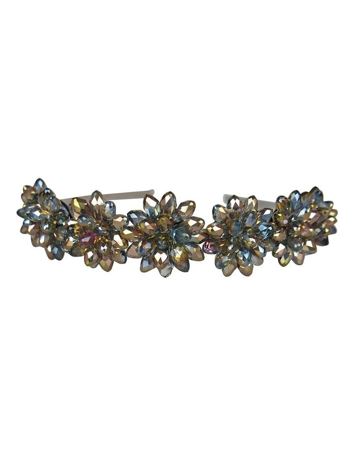 Crystal Flowers On A Headband image 3